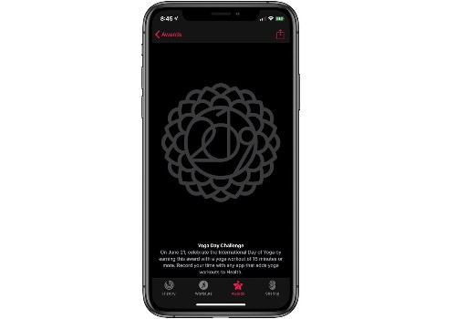 Apple Launches New Yoga Day Activity Challenge