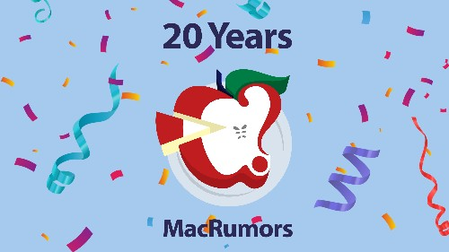 MacRumors is 20 Years Old Today