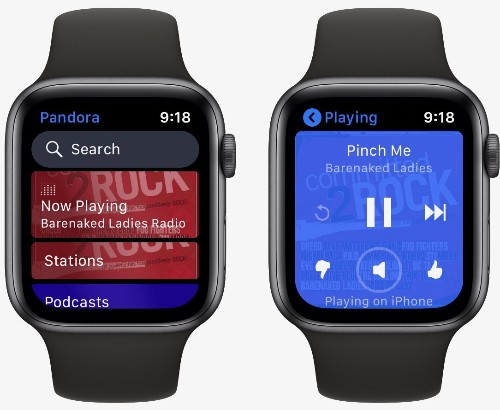 Pandora Introduces Standalone Apple Watch App, Stream Music and Podcasts With No iPhone Required
