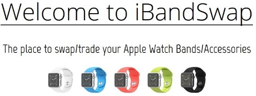 Apple Watch Band Swap Sites Rise in Popularity as 'BandSwapper' Pivots
