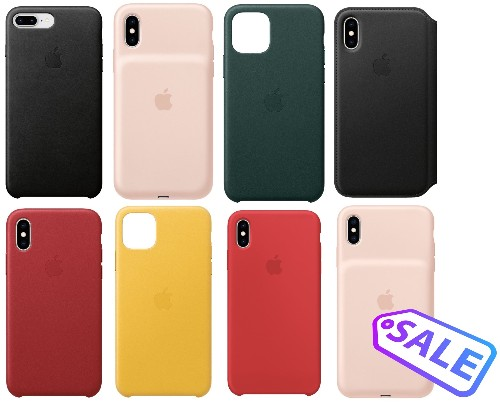 Deals: Apple's Leather, Silicone, and Smart Battery Cases for iPhone Receive Major Discounts (Up to $65 Off)