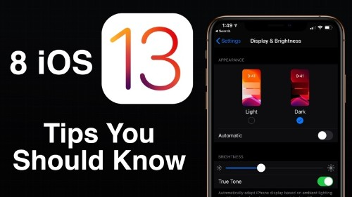 Eight iOS 13 Tips to Get You Started