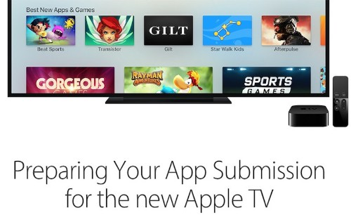 Apple Invites Developers to Begin Submitting tvOS Apps for Review