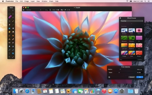 Pixelmator for Mac Updated With Redesigned Interface, OS X Yosemite Support