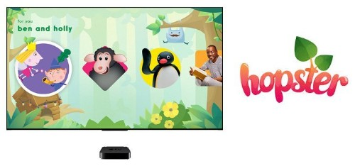 Apple TV Search Now Supports Kids App Hopster in United States