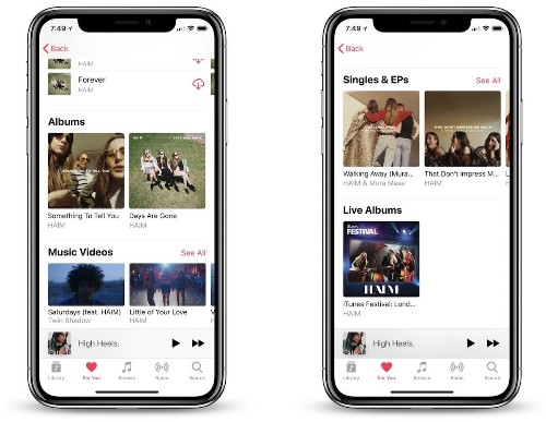 Apple Music Now Separates Studio Albums From Singles EPs