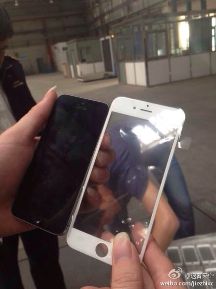 Photo of Alleged Front Panel from Larger-Screen iPhone 6 Surfaces [Updated]