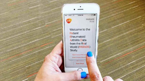 GSK Launches First ResearchKit Study by a Major Pharmaceutical Company