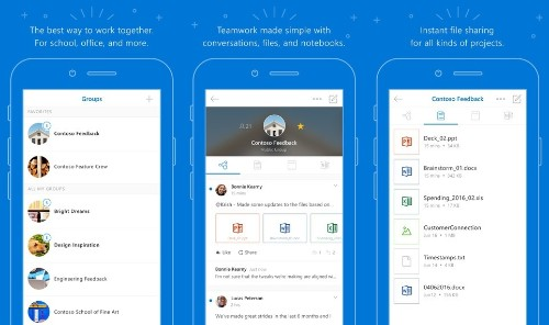 Microsoft Overhauls 'Outlook Groups' iOS app for Office 365 Users