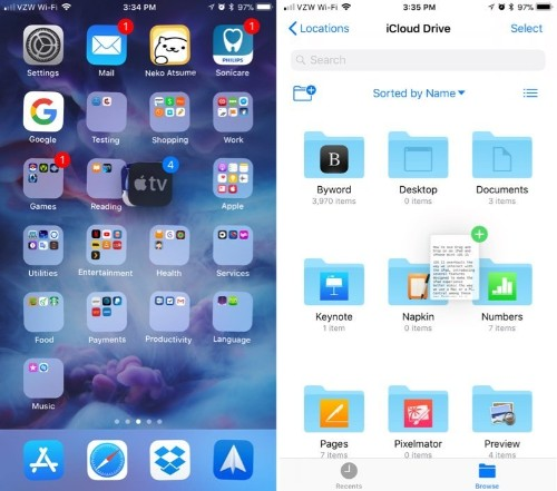 How to Use Drag and Drop on an iPad and iPhone With iOS 11