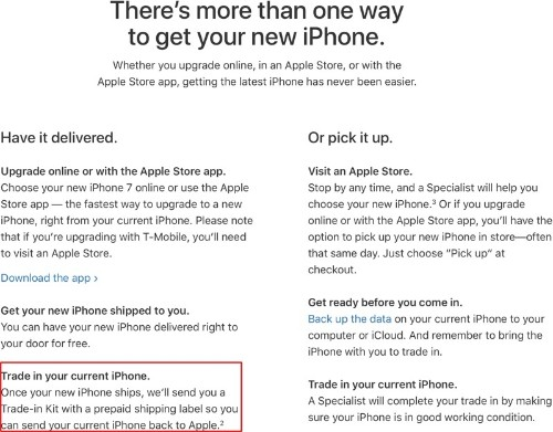 iPhone Upgrade Program Customers Able to Trade In Old Devices by Mail for iPhone X Launch