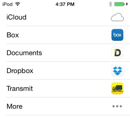 Apple Forces Transmit to Remove Send to iCloud Drive Feature, Blocks All Share Sheet File Transfers in the Process