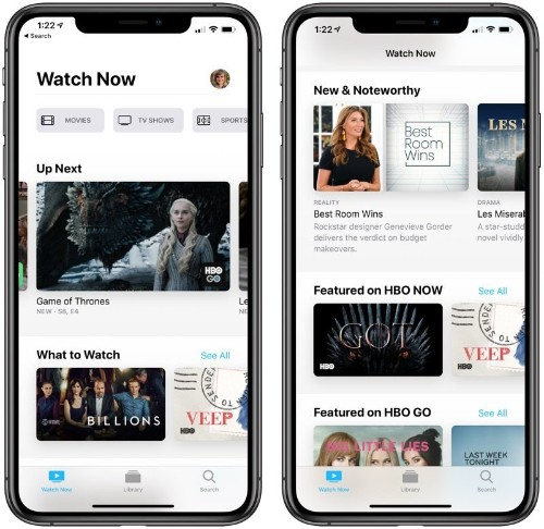Apple Releases iOS 12.3 With New TV App and Channels Feature