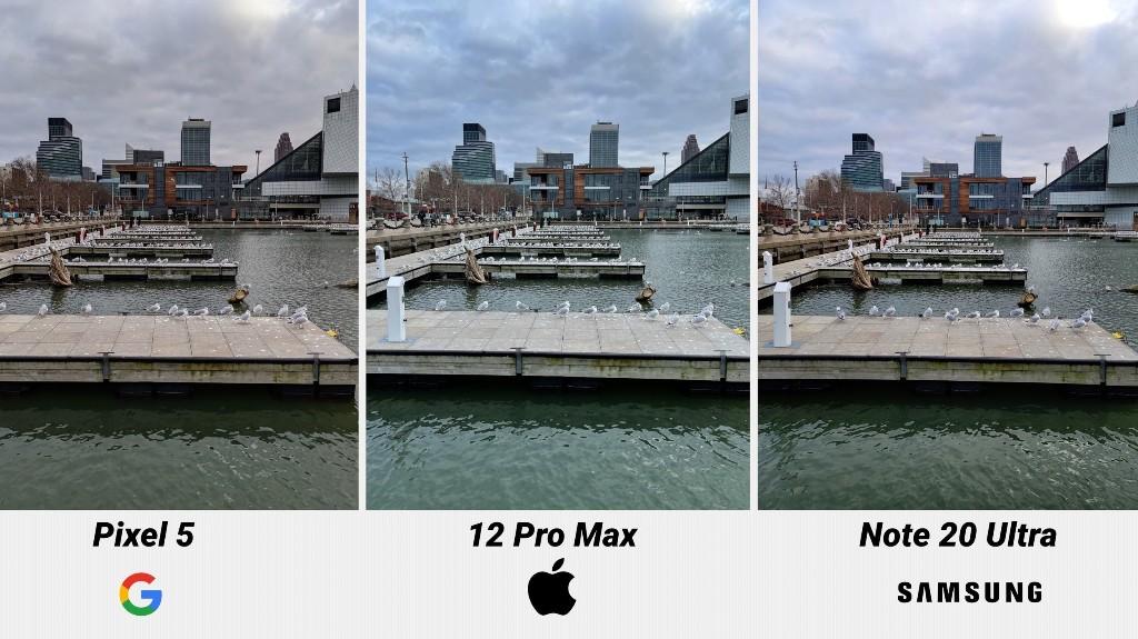 Camera Comparison: iPhone 12 Pro Max vs. Google Pixel 5 vs. Samsung Galaxy Note 20 Ultra