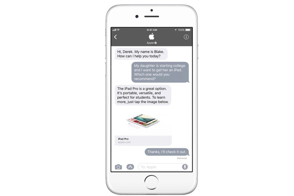Apple Business Chat Now Available to All Zendesk Customers