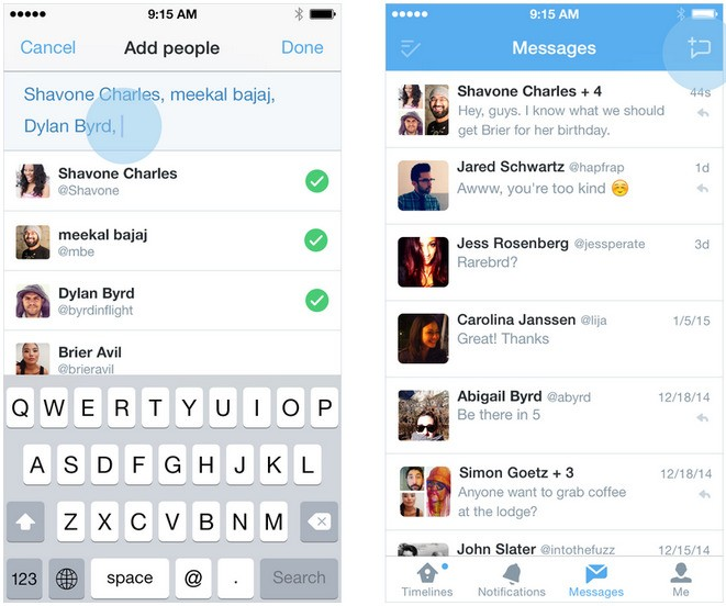 Twitter Updating iOS App With Group Messaging and New Video Features
