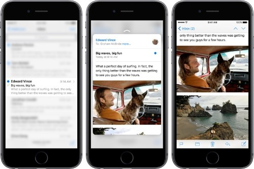 How to Use 3D Touch on iPhone 6s and 6s Plus