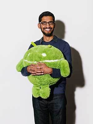Google's Sundar Pichai Discusses Search Partnership With Apple and iPhone 6 Success