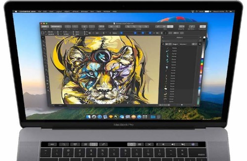 CorelDRAW Returns to Mac After Nearly 20 Years With macOS Mojave Dark Mode and Touch Bar Support
