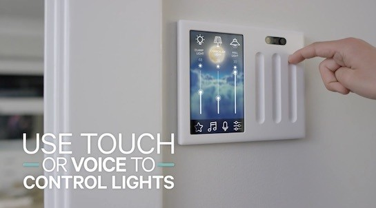 'Brilliant' Aims to Replace Your Home's Light Switches With Touchscreens