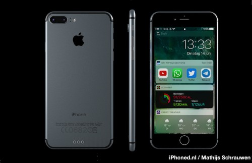 Latest iPhone 7 Concept Imagines New Handset Running iOS 10