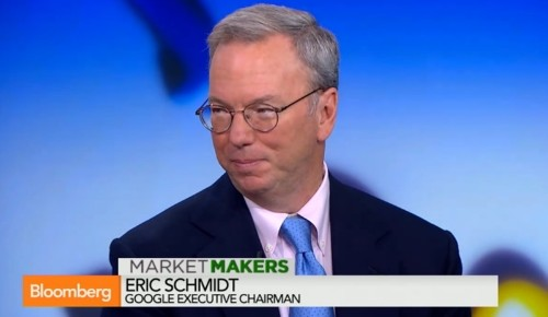Google Chairman Eric Schmidt: Competition Between Apple and Google is More Brutal Than Ever
