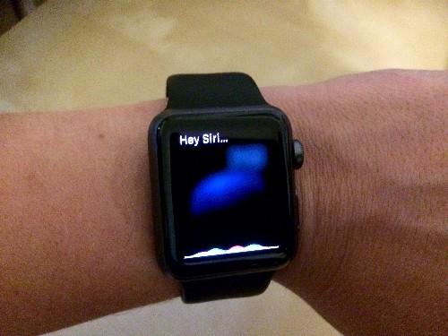 How to Use Siri on Apple Watch