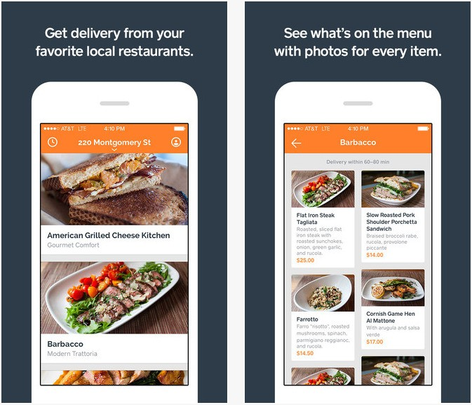 Square Launches iOS App for Food Delivery Service Caviar