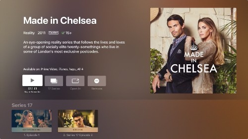 Channel 4's 'All 4' Streaming Service Now Integrates With Apple's TV App for UK Viewers