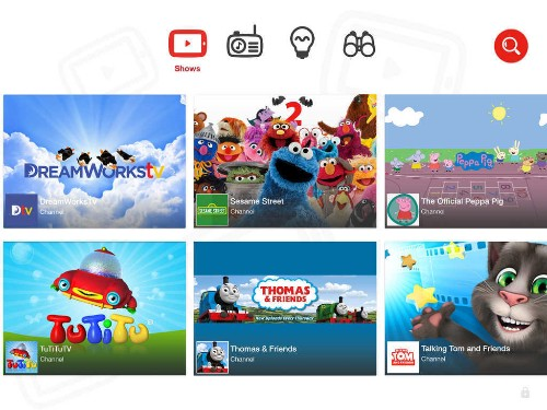 Google Launches 'YouTube Kids' for iPhone and iPad
