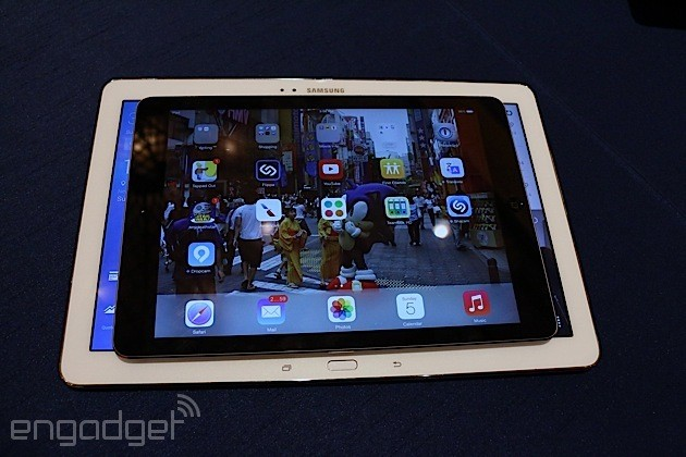 """Samsung Introduces 12.2"""" Galaxy Tablets Ahead of Rumored iPad Pro Introduction"""