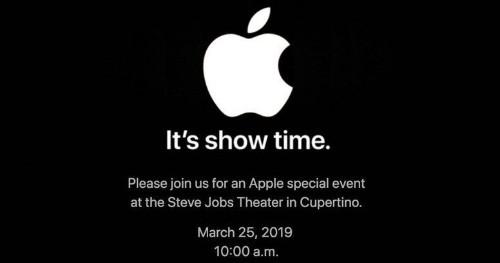 Apple's March 2019 Media Event: Spoiler-Free Video Stream