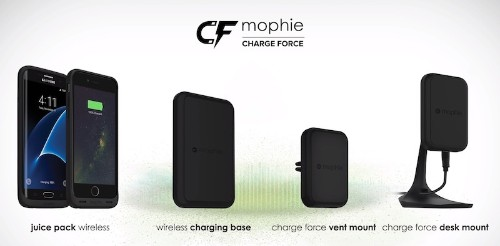Mophie Launches Wireless 'Charge Force' Battery Cases and Charging Pads