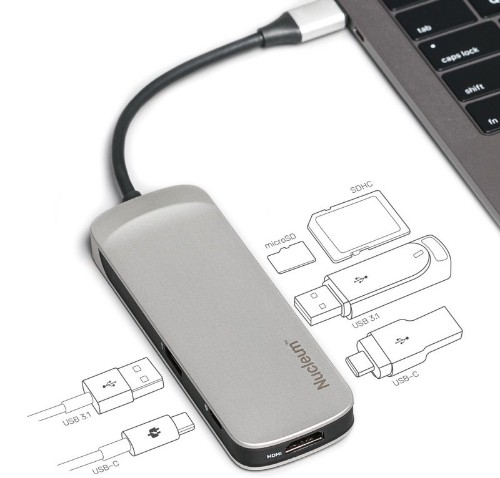 Review: Kingston's Nucleum USB-C Hub Adds Much-Needed Ports to Your MacBook or MacBook Pro