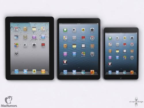 Thinner iPad and Retina iPad Mini Expected on Tuesday