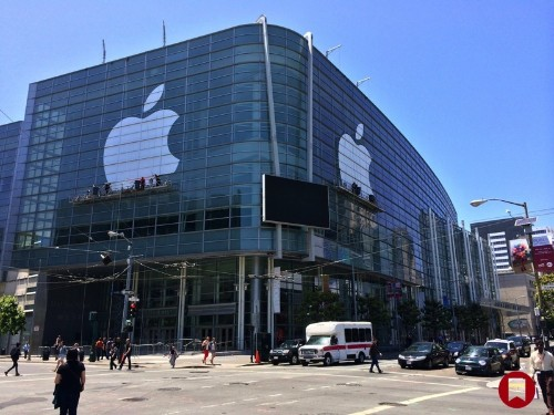 Apple Nears Completion of WWDC Decorations at Moscone Center