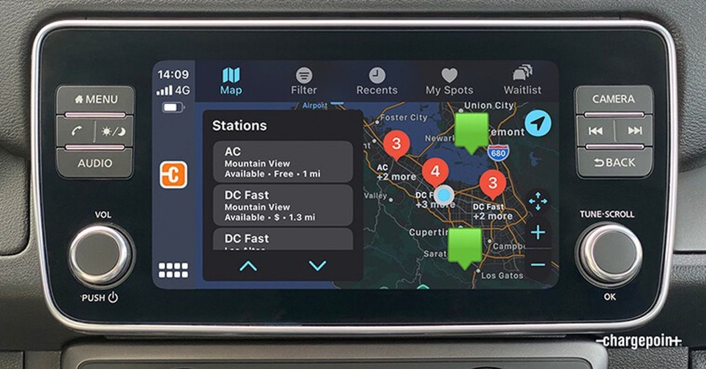 Apple CarPlay Gains More EV Charging Info Thanks to Integration With ChargePoint