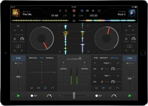 New 'djay Pro' App for iPad Brings Redesigned Interface, Powerful Mixing Tools, and More