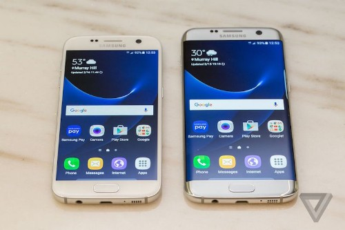 Samsung Announces Galaxy S7 and S7 Edge With Expandable Storage, Larger Battery