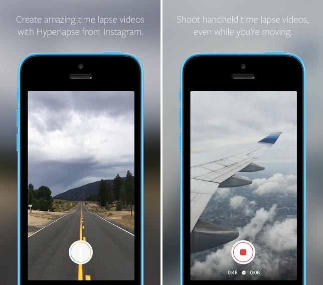 Instagram Launches Time Lapse 'Hyperlapse' Video App