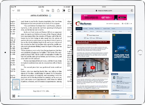 Amazon Kindle App for iOS Gains Support for iPad's Split View