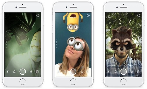 Facebook Launches Camera Within iOS App With Effects, Filters, and 24-Hour 'Stories'