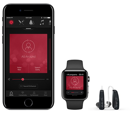 ReSound LiNX 3D Hearing Aid and iOS App Connect Users to Their Audiologists for Remote Fine-Tuning