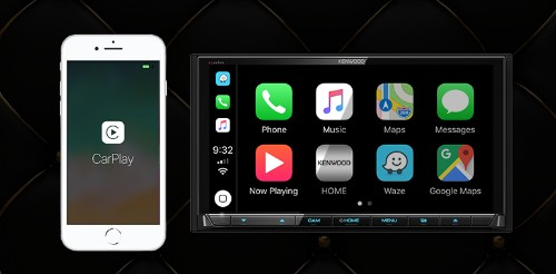 CES 2019: Kenwood and JVC Debut Lineup of Wireless CarPlay Receivers
