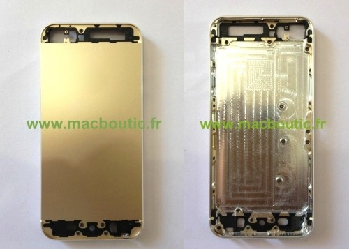 New Photos of Gold/Champagne iPhone 5S Parts Leak