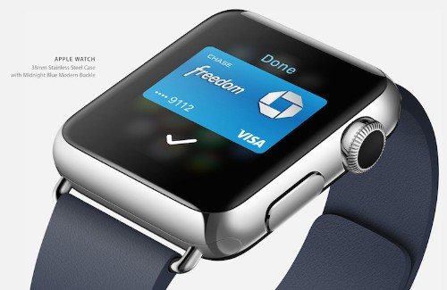 Apple Watch Will Use Skin Contact for Apple Pay Security