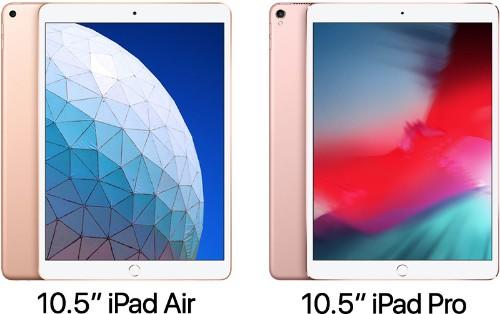 2019 10.5-Inch iPad Air vs. 2017 10.5-Inch iPad Pro
