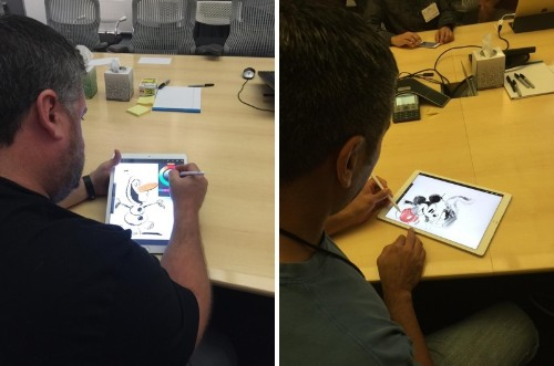 Disney Artists Go Hands-On With Upcoming iPad Pro and Apple Pencil