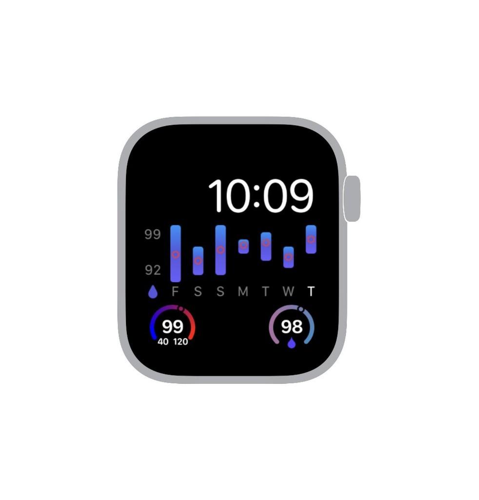 Heart Analyzer App Gains Blood Oxygen Complication for Apple Watch Series 6