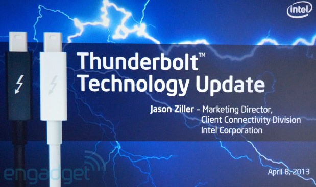 Intel Announces Next Version of Thunderbolt With 20Gbps Throughput Coming in 2014